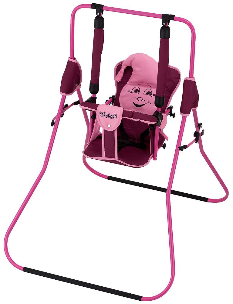 Качель Babyroom Casper  бордовый-розовый