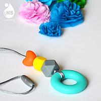 Силиконовый слингокулон Mini - Бирюзовое кольцо