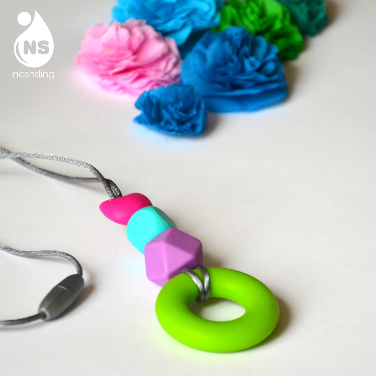 Силиконовый слингокулон Mini - Зелёное кольцо
