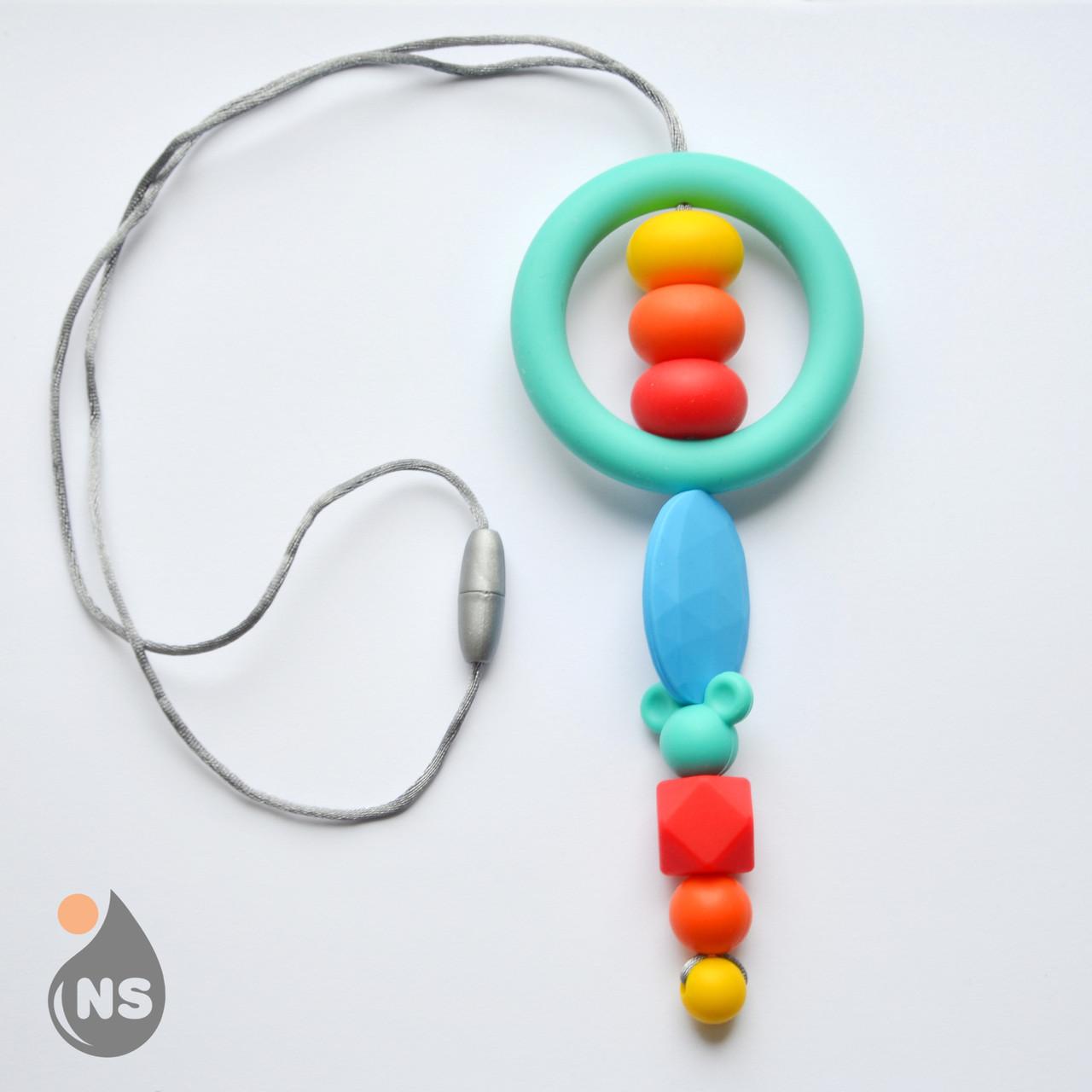 Силиконовый слингокулон Maxi - Бирюзовое кольцо.