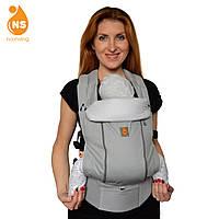 Эрго-рюкзак Nashsling с вентиляционной сеткой Climate Control - Сильвер