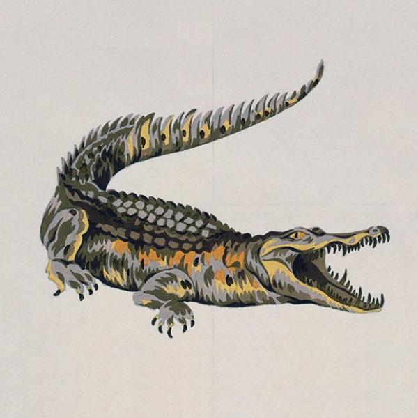 Оригинальный рисунок эмблемы Lacoste