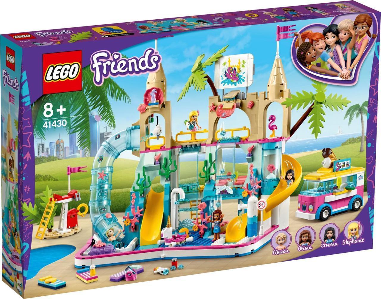 Lego Friends Летний аквапарк 41430