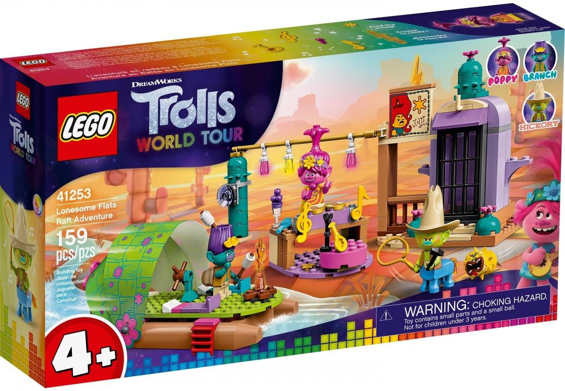 Lego Trolls: World Tour Приключение на плоту в Кантри-тауне 41253