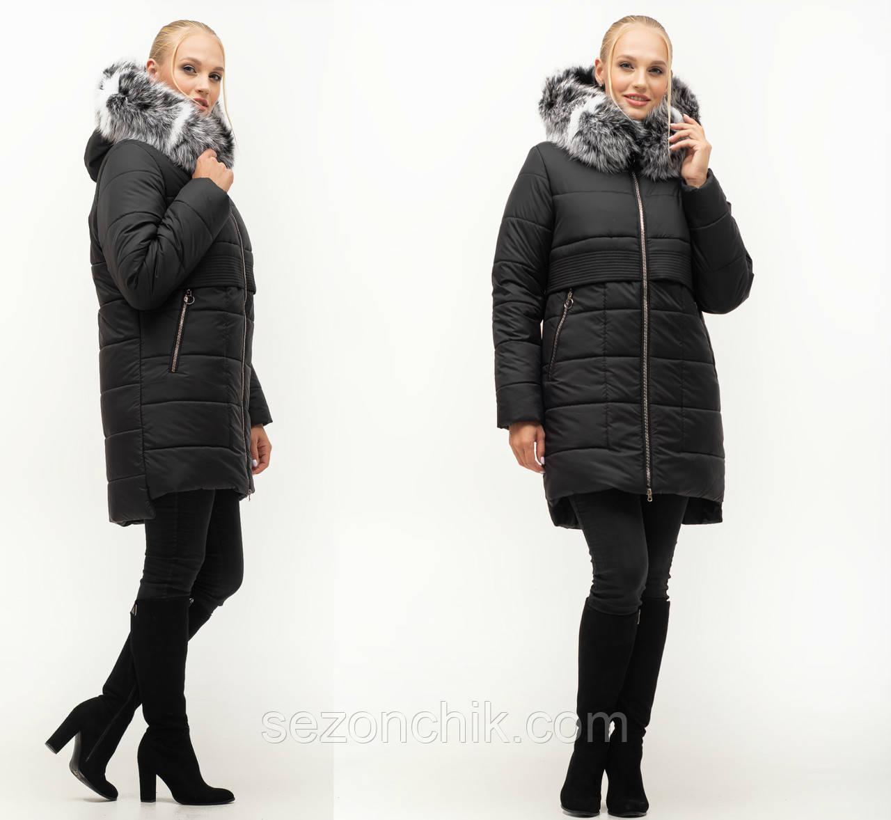 Женская модная зимняя куртка новинка