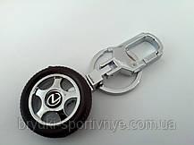 Брелок в форме колеса с логотипом Lexus, фото 2