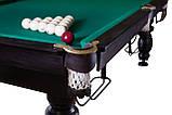 Бильярдный стол Мрия Нова Люкс размер 9 футов игровое поле Ардезия из натурального дерева Стандартная, фото 6