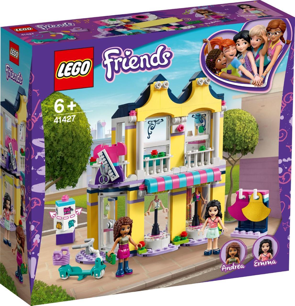 Lego Friends Модный бутик Эммы Лего френдс 41427
