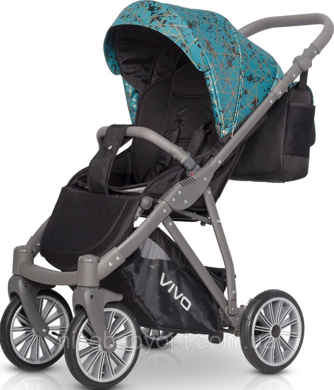 Детская  прогулочная коляска Riko Vivo 04