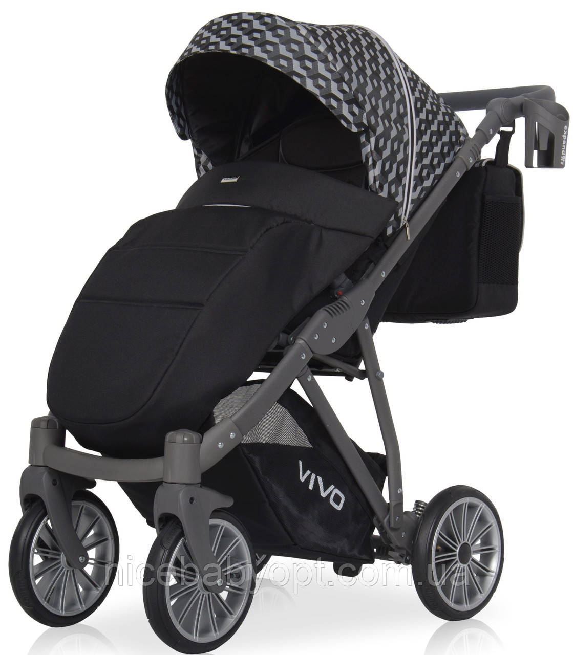 Прогулянкова коляска Expander Vivo 01 Carbon