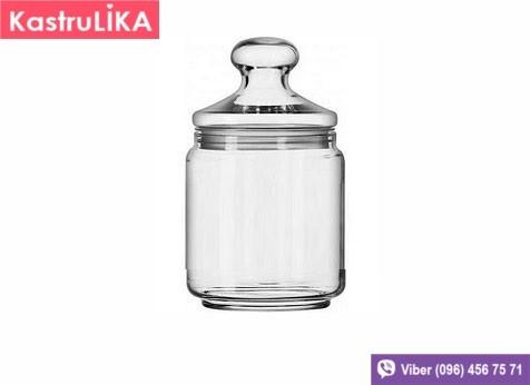 Скляна банка для сипучих Luminarc Pot CLUB 750мл