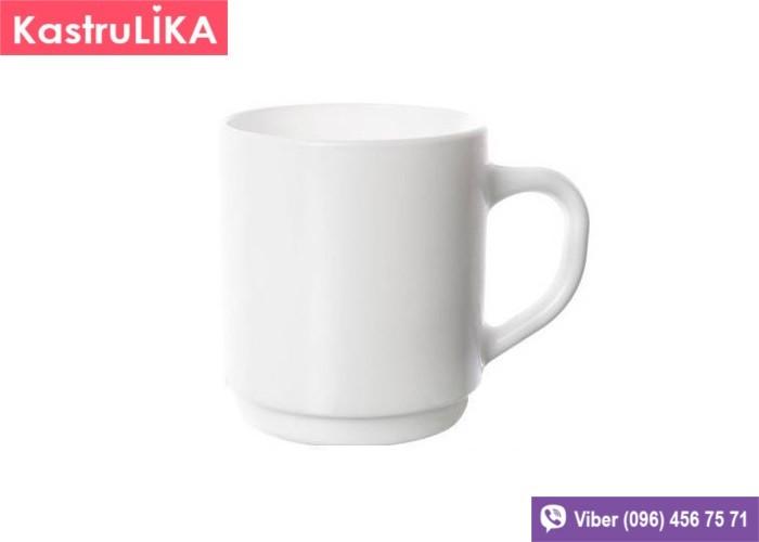 Белая чашка Luminarc Opal 290мл