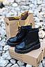 """Женские зимние ботинки Dr.Martens Jadon """"Black"""", фото 7"""