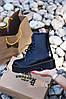 """Женские зимние ботинки Dr.Martens Jadon """"Black"""", фото 8"""