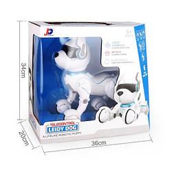 Собака робот A001 leidy dog з голосовим управлінням Robot Dog на радіокеруванні іграшка для дітей