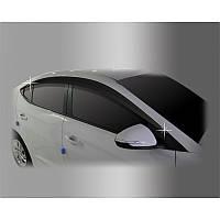 Дефлектори вікон вітровики Hyundai Elantra 2015- (AD)