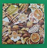 Дизайнерская салфетка (ЗЗхЗЗ, 20шт) LuxyНГ Новогодние сладости (1 пач), фото 4