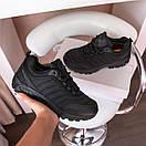 Мужские кроссовки Merrell Vibram Black / Мэррелл Вибрам Чернные Термо, фото 2