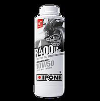 Моторное масло IPONE R4000 RS 10W50 (1л) для мотоциклов. JASO MA-2, API SM