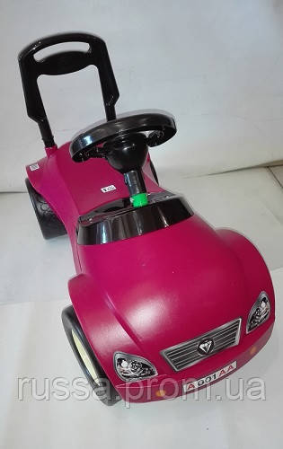 Детская машина для катания МЕРСИК красный ОРІОН 016