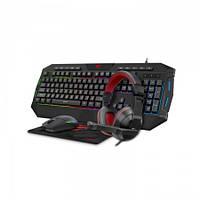 Игровой комплект HAVIT HV-KB501CM клавиатура,мышка,наушники,коврик