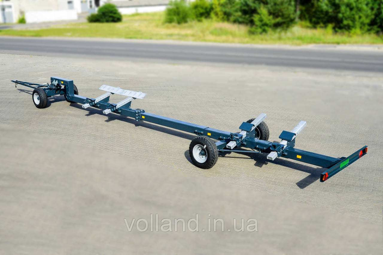 """Тележка для транспортировки жаток двухосная, модель VL-30  (TM 'VOLLAND"""")"""