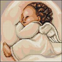"""Набор для вышивания крестом """"Luca-s"""" B356 Спящий ангелочек"""