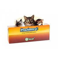 Празимек Ц - 4 таблетки  от глистов, блох и клещей для кошек