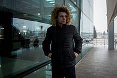 Куртка мужская зимняя черная Intruder 'Alaska' в размере S M L XL XXL