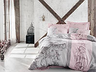 Постельное белье сатин  Cotton box Евро Servet Bej