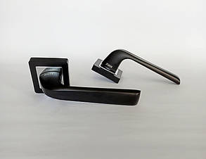Ручка дверная Sofia Tanos 15-170 ORB/CP Черный матовый