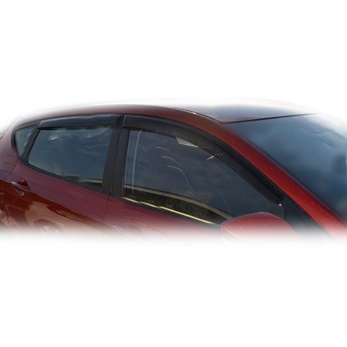 Дефлекторы окон Hyundai Accent 2010 -> HB (HY40)