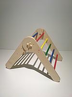 Треугольник Пиклера малый. Детская лесенка. Детский спортивный уголок от 6 месяцев