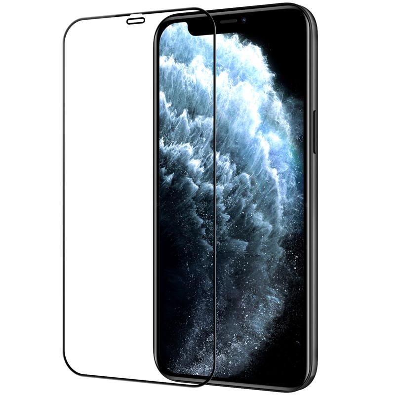 "Nillkin iPhone 12 Pro Max (6.7"") CP+PRO tempered glass Black Защитное Стекло"