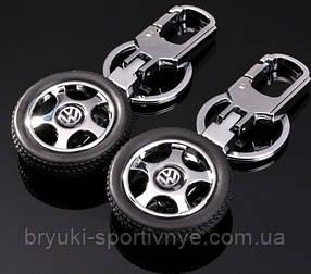 Брелок  в форме колеса с логотипом Volkswagen