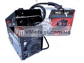 Сварочный полуавтомат инверторный Сталь MIG-240 (MIG / MAG / MMA), фото 2
