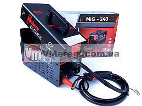 Сварочный полуавтомат инверторный Сталь MIG-240 (MIG / MAG / MMA), фото 3