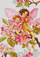 """Набор для вышивания крестом """"Luca-s"""" B298 Цветы яблони"""