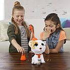 Интерактивный Шаловливый питомец на поводке Котенок furReal Poopalots Big Wags Interactive Pet Toy, фото 4