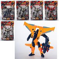 Трансформер 8112 игровой робот+транспорт 21 см игрушка для мальчика