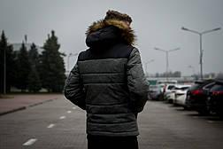 Куртка мужская зимняя черная серая Intruder 'Alaska' в размере S M L XL XXL, фото 2