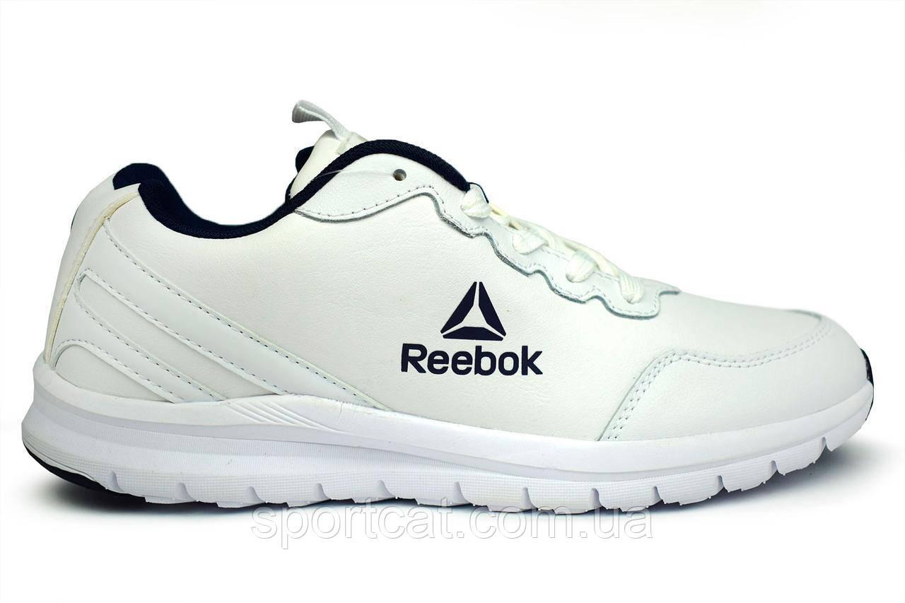 Мужские кроссовки Reebok Classic, белые Р. 41 42 43 44 45 46