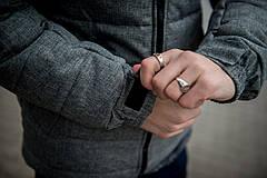 Куртка мужская зимняя черная серая Intruder 'Alaska' в размере S M L XL XXL, фото 3