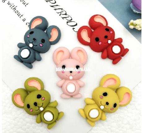 Шарм «Мышь» для слайма, фото 2
