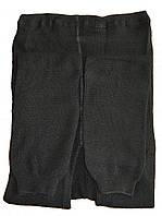 Гамаши женские вязаные (черные)