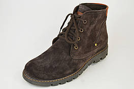Ботинки мужские Calif 282 коричневые замша