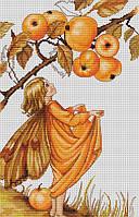 """Набор для вышивания крестом """"Luca-s"""" B297 Дикая яблоня"""