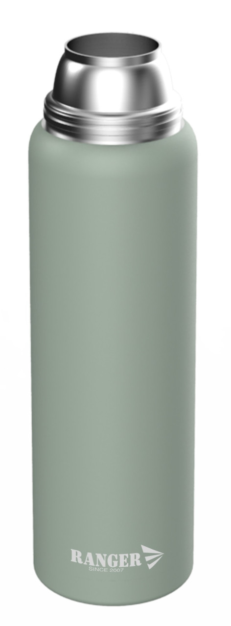 Термос пищевой до 24 часов  Ranger Expert 1,6 литра оливковый (гарантия)