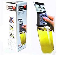 Прес-диспенсер масляний Press & Measure Oil Dispenser   Пляшка-дозатор для масла