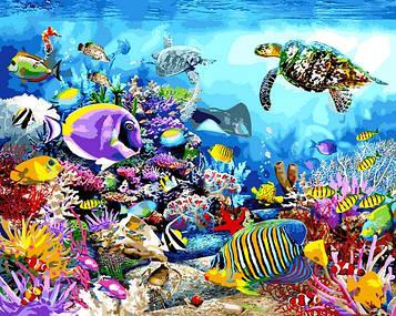 Картина по номерам 40×50 см. Babylon Коралловый Риф (VP 1197)